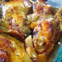 Super Easy Garlic Chicken