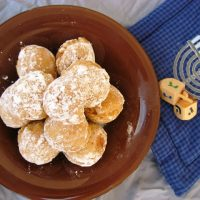 The Healthiest Jelly Doughnuts (Fat Free/Sugar Free/Whole Wheat)