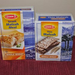 Healthier Matzah Brei Plus Osem Passover Products Review