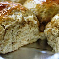 30 Minute Honey Whole Wheat Rolls