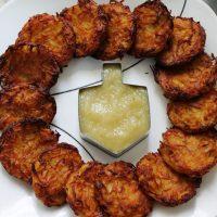 Crispy Baked Potato Latkes