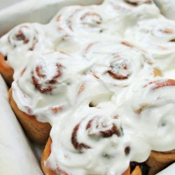 Quick Healthier Cinnamon Buns (Ready in 45 minutes!)