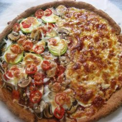 Easiest Whole Wheat Pizza