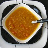 Amazing Butternut Squash Red Lentil Soup