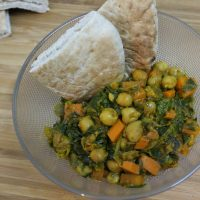 MIA and Chickpea Curry