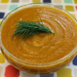 Creamy Carrot Zucchini Soup