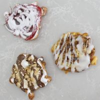 Mini Funnel Cakes Three Ways (Made in a Bag)