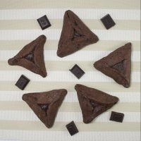 Triple Chocolate Hamantaschen