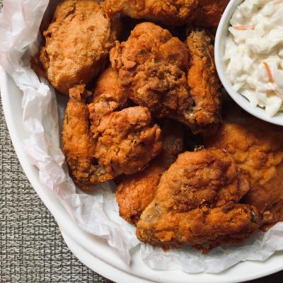 Crispy Oven Fried Chicken (Gluten Free)